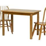 Jordan-Lee Solid Wood Dining Table by Red Barrel Studio®