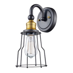 Shopping for Bezu 1-Light Armed Sconce By Williston Forge