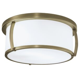 Latitude Run Persephone 3-Light Flush Mount