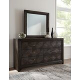 Colbie 6 Drawer Dresser with Mirror by Wrought Studio™