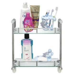 Chauvin Double Glass Wall Shelf