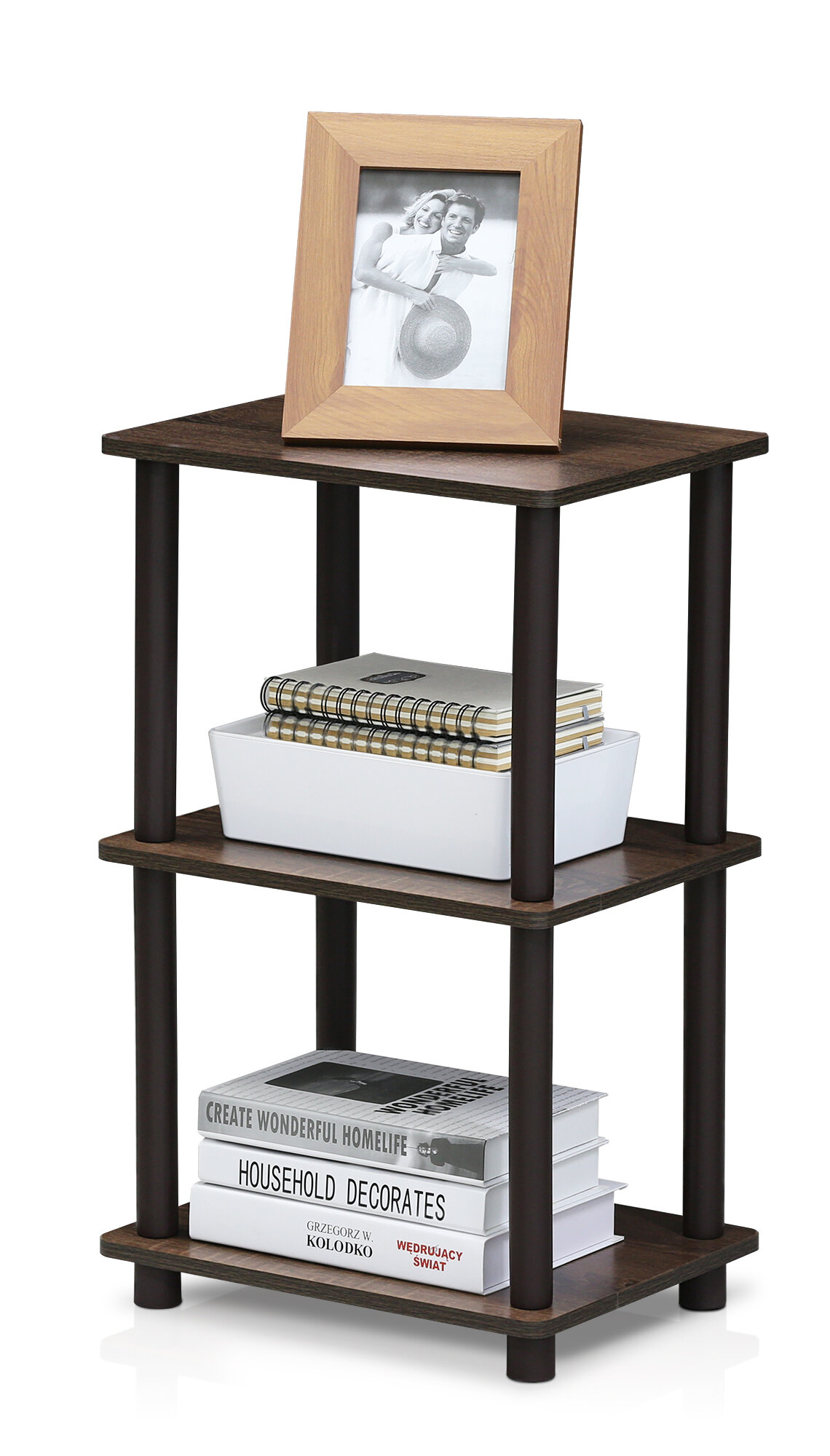 Winston Porter Khloe 25 H X 15 W X 11 6 D Turn N Tube 2 Space Shelving Unit Reviews Wayfair