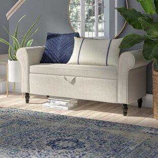 32 Inch Upholstered Bench | Wayfair