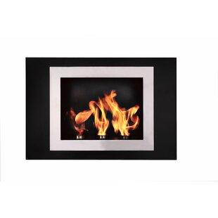 Fiorenzo Wall Mounted Ethanol Fireplace By BioFlame