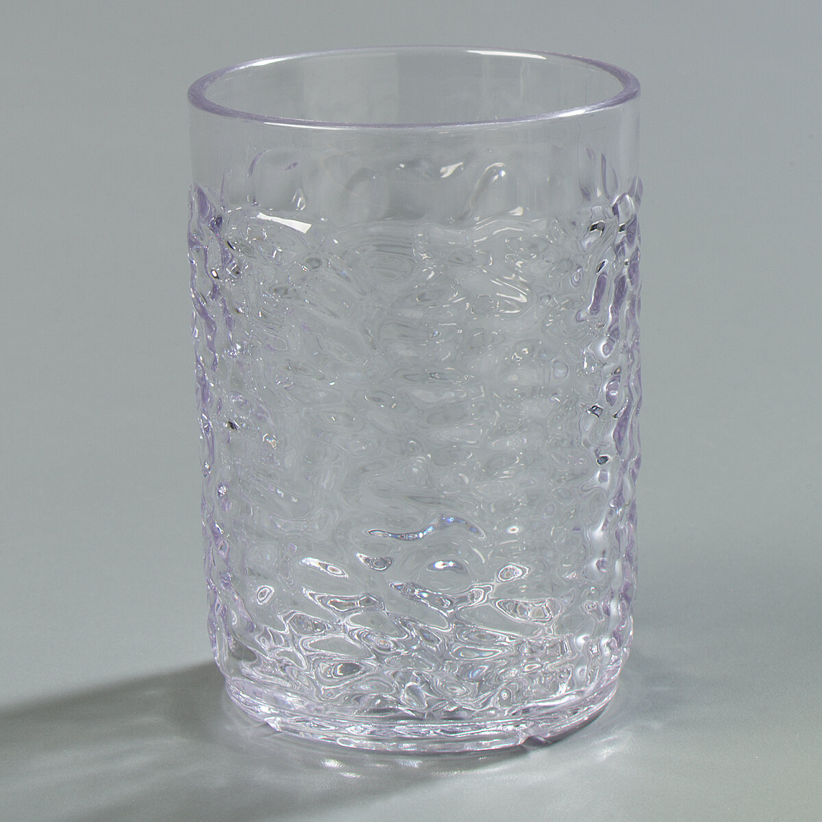 Carlisle Food Service Products Pebble Optic 5 Oz Plastic Drinking Glass Set Wayfair