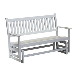 Franklin Springs Hardwood Porch Glider Bench