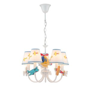 Cary 5-Light Shaded Chandelier