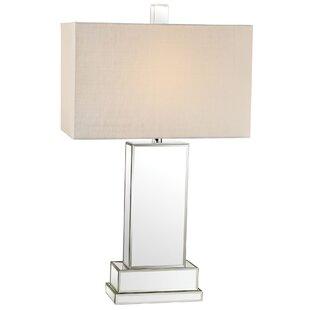 Everly Quinn Marine Mirror Block LED 29.75