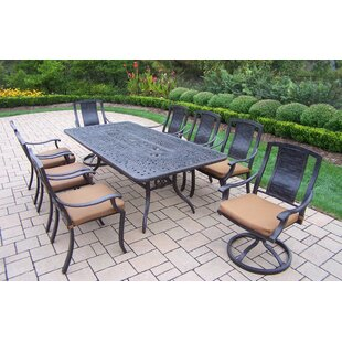 Oakland Living Vanguard 9 Piece Dining Se..
