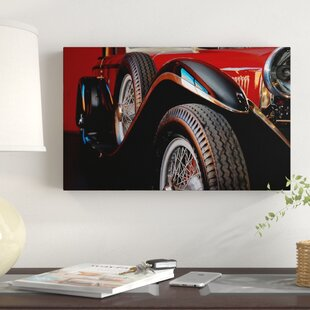 'Mercedes Benz 1929' Photographic Print on Wrapped Canvas by Winston Porter