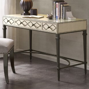 Compare prices Perez Nailhead Writing Desk By Darby Home Co