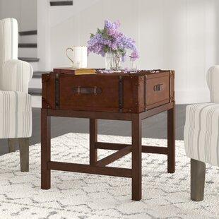 Jeffries Suitcase End Table