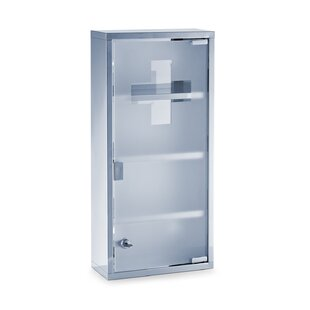 First Aid 27cm X 57cm Surface Mount Medicine Cabinet By Zeller