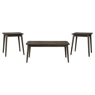 George Oliver Callihan 3 Piece Coffee Table Set