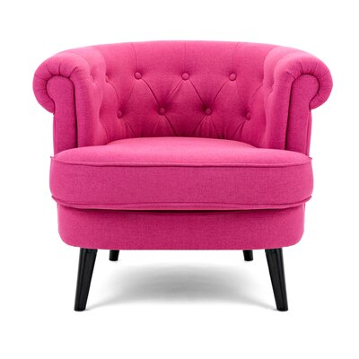 Barrel Pink Accent Chairs You Ll Love In 2020 Wayfair