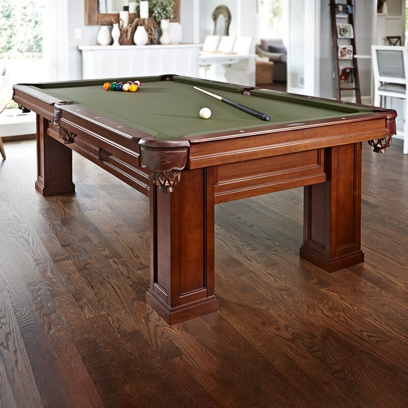 Brunswick Billiards Oak Hill Billiards 8.3' Slate Pool Table With