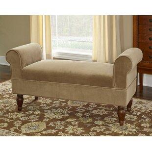 Best Reviews Carreras Upholstered Bench ByAlcott Hill
