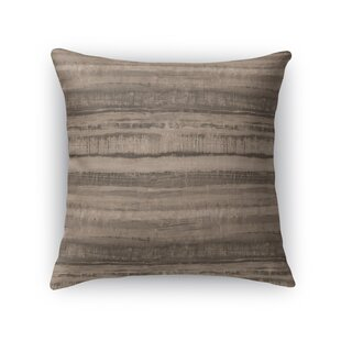 Washy Watercolor Cotton Throw Pillow