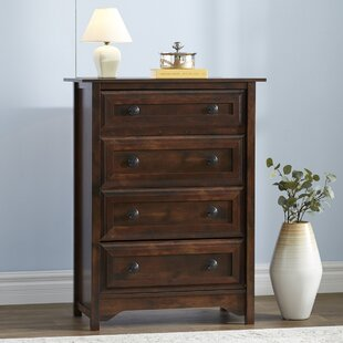 Coyne 4 Drawer Wood Chest