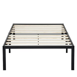 Farryn Platform Steel Bed Frame by Latitude Run #2