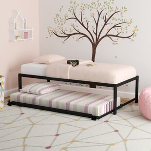 Check Prices Josef Twin Platform Bed with Trundle by Zoomie Kids Reviews (2019) & Buyer's Guide