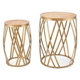 Saratoga Cross 2 Piece Nesting Tables by ..