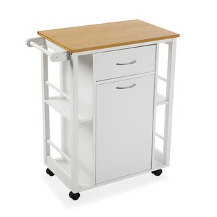Amla Slimline Kitchen Trolley By August Grove