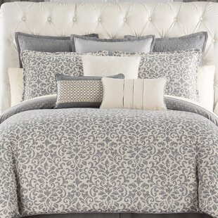 Waterford Bedding Charlize 4 Piece Reversible Comforter Set
