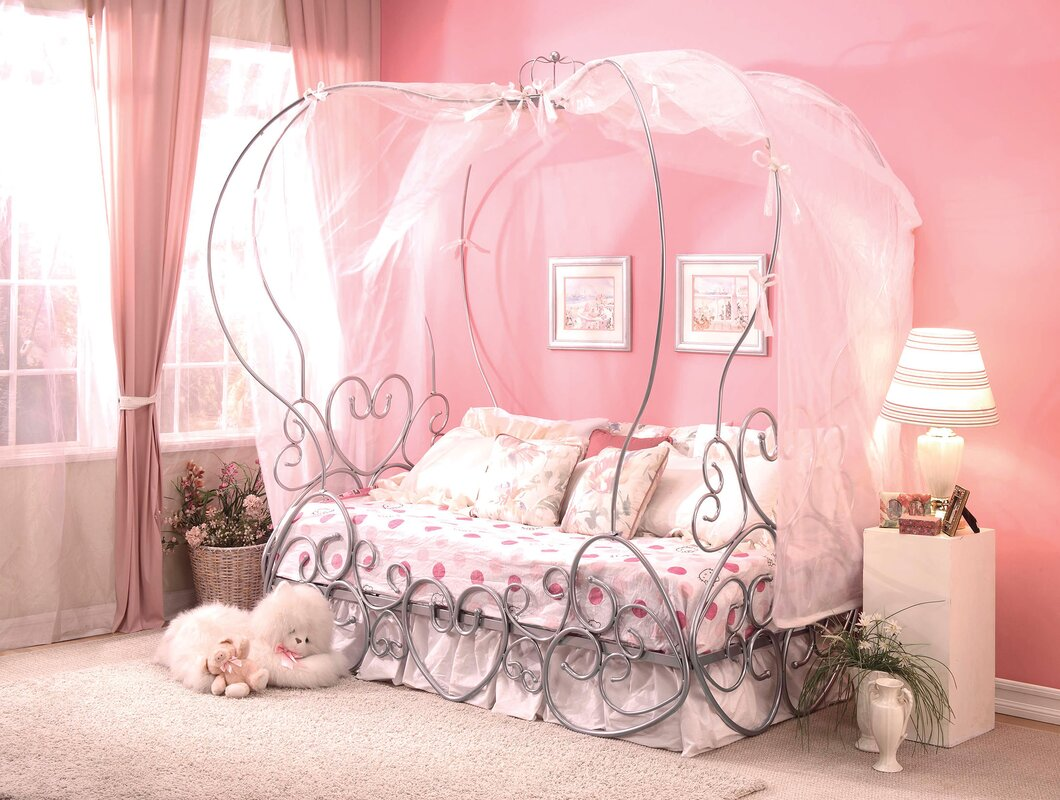 Priya Canopy Bed : pink canopy for bed - memphite.com