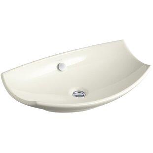 Best Reviews Bancroft Specialty Ceramic Specialty Vessel Bathroom Sink with Overflow By Kohler