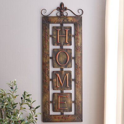 Nixon Metal Home Wall Decor