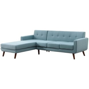 Withrow 121 Left Hand Facing Fabric and Chaise Sectional by George Oliver