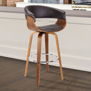 Chagnon Swivel Bar Stool George Oliver