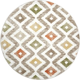 Hamm Ivory/Beige Area Rug by Wrought Studio