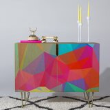 Three of the Possessed Credenza by Deny Designs
