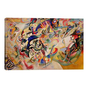 'Composition VII' by Wassily Kandinsky Graphic Art Print