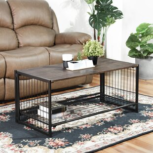 Ricketts Line Zen Sled Coffee Table With Tray Top By Williston Forge