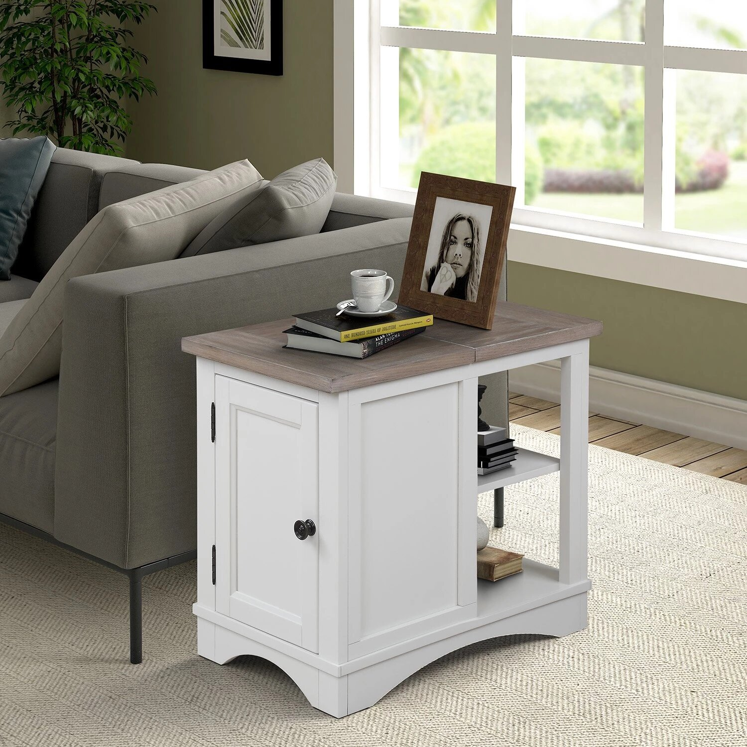 Rosalind Wheeler Hinson End Table With Storage Wayfair