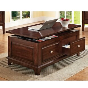 Darby Home Co Epps Enchanting Lift Top Coffee Table with Storage