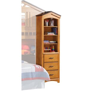 Find a Crossover Cottage Style Wooden Corner Unit Bookcase by Harriet Bee Reviews (2019) & Buyer's Guide