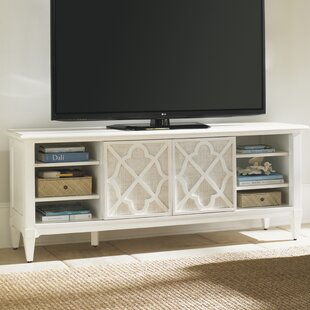 Buy clear Ivory Key TV Stand for TVs up to 70 by Tommy Bahama Home Reviews (2019) & Buyer's Guide