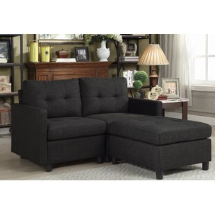 Westerleigh Reversible Modular Sectional with Ottoman by Winston Porter