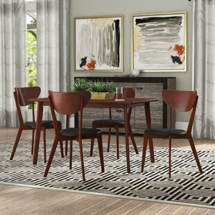 Bulgera Modern Wood 5 Piece Dining Set & Modern Dining Room Sets Youu0027ll Love | Wayfair
