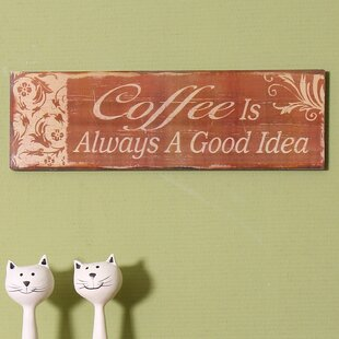 Coffee Wall Decor | Wayfair