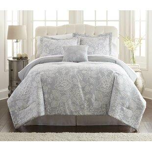 Lark Manor Vigne Polyester Reversible Comforter Set