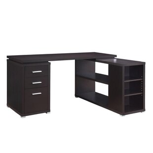 Shaunna Reversible L-Shape Executive Desk by Latitude Run Today Only Sale
