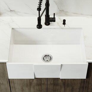 30 farmhouse sink. 30\u0027\u0027 X 18\u0027\u0027 Farmhouse Kitchen Sink With Basket Strainer 30