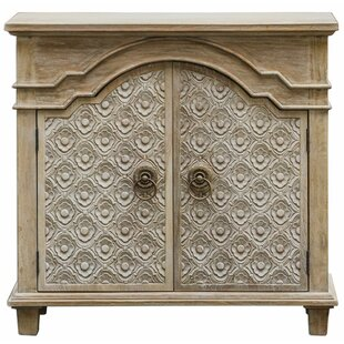 Clarksville French Country 2 Door Accent Cabinet by Bungalow Rose