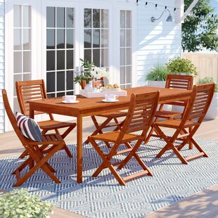 Brighton 7 Piece Rectangular Dining Set