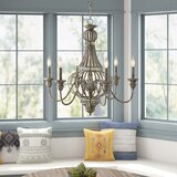 Rhea 6-Light Candle Style Classic / Traditional Chandelier